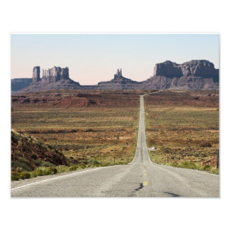 Mile Marker 13 Utah Highway Monument Valley Art Photo