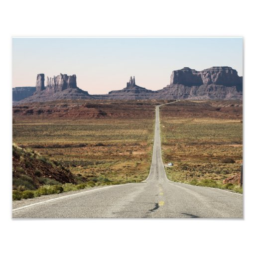 Mile Marker 13 Utah Highway Monument Valley Photo