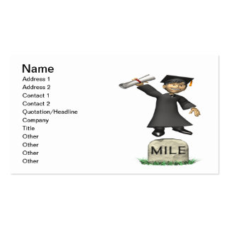 Mile Stone Pack Of Standard Business Cards