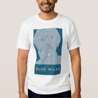 MILES DAVIS 'BLUE MILES' MEN'S T-SHIRT