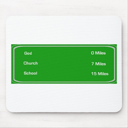 miles tell god mouse mat