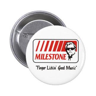 "Milestone ""Finger Lickin' Good"" Button"