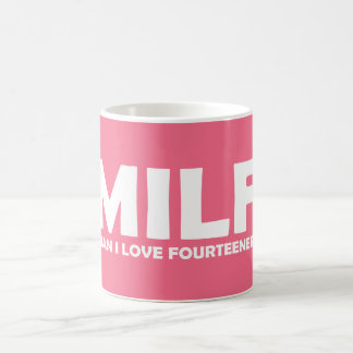 MILF (Man I Love Fourteeners) Coffee Mug
