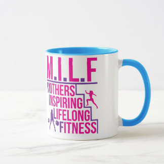 MILF - Mothers Inspiring Lifelong Fitness Mug