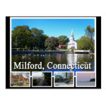 Milford Connecticut Multiview Postcards