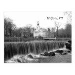 Milford, CT Duckpond Postcard