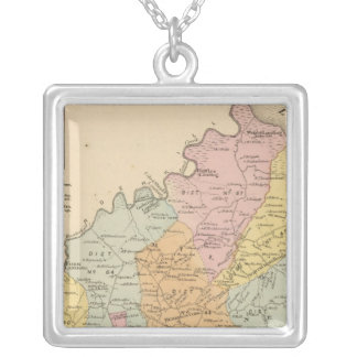 Milford Hundred Square Pendant Necklace