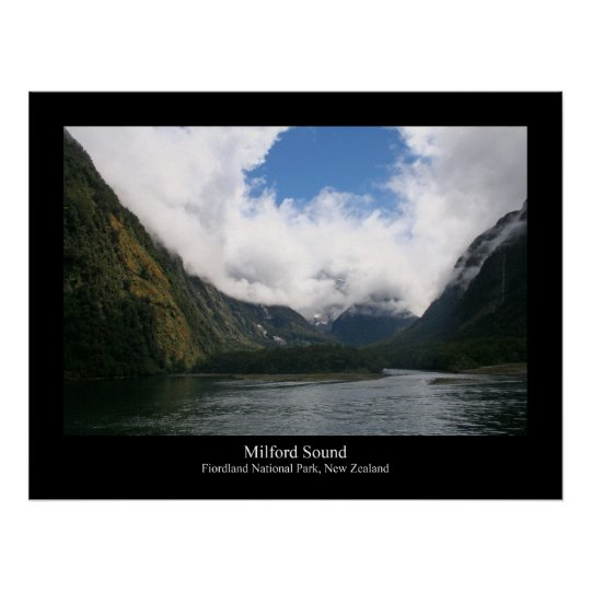 Milford Sound 6 Poster