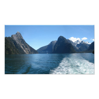 Milford Sound Fiordland New Zealand Art Photo