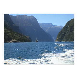 Milford Sound, New Zealand 13 Cm X 18 Cm Invitation Card