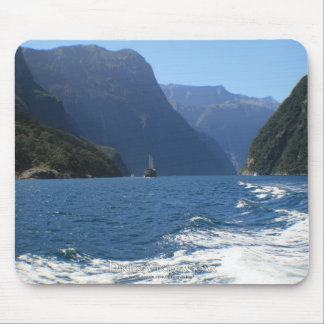 Milford Sound, New Zealand Mouse Pad