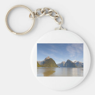 Milford Sound Panorama 1 Basic Round Button Key Ring