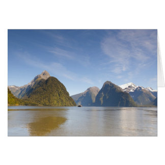 Milford Sound Panorama 1 Greeting Card