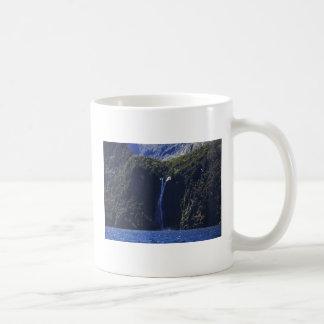 Milford Sound (Piopiotahi) Waterfall Coffee Mug