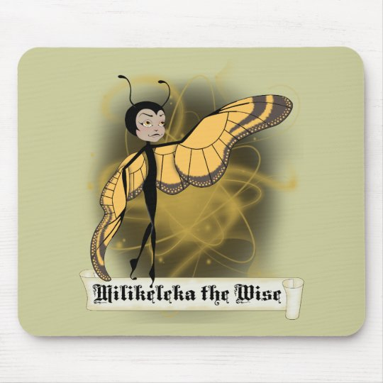 Milikeleka the Wise Mouse Pad