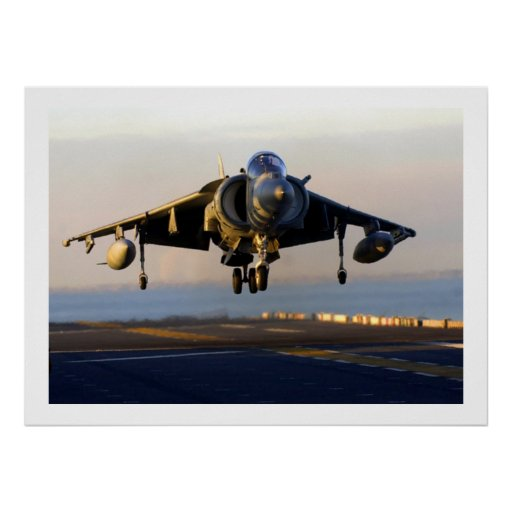 Military aircraft poster from 14.95