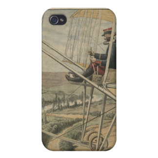 Military aviators on the Eastern front iPhone 4 Cases
