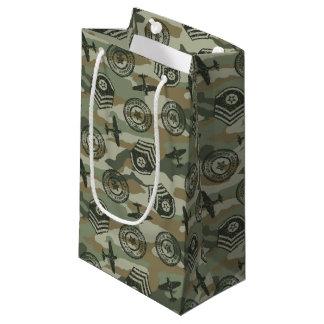 Military badges small gift bag