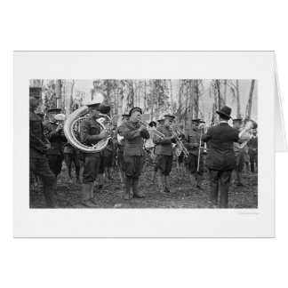 Military Band Alaska 1920 Greeting Card