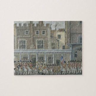 Military Band at St. James' Palace, late 18th cent Jigsaw Puzzle