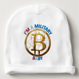 Military Bitcoin Baby Apparel Baby Beanie