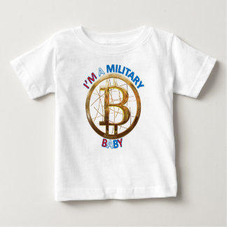 Military Bitcoin Baby Apparel Baby T-Shirt