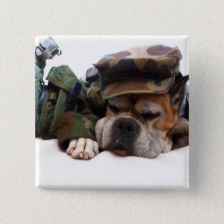 Military boxer button