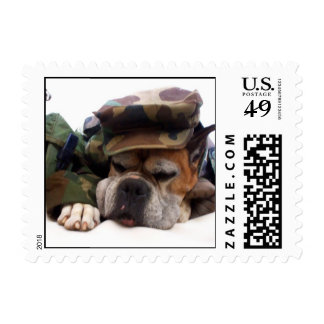 Military boxer small stamps
