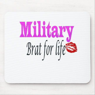 military brat 3 mouse pad