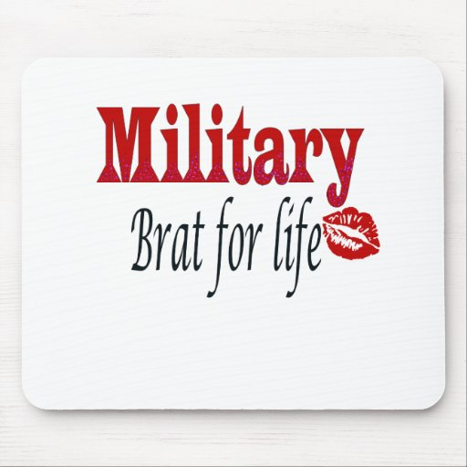 military brat 4 mouse pads