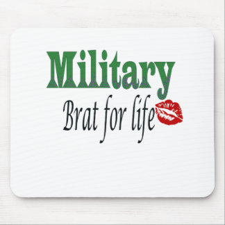 military brat 5 mouse pad