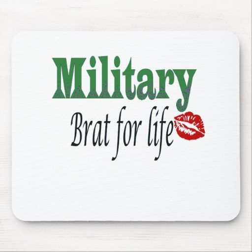 military brat 5 mouse pads