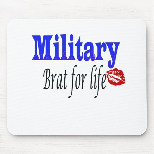 military brat 6 mouse pad