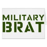 Military Brat Greeting Card