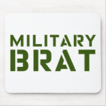 Military Brat Mouse Pad