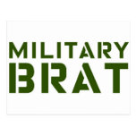 Military Brat Post Card