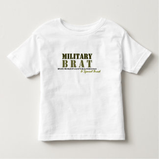 Military Brat-Special Breed Toddler T-Shirt