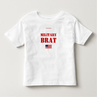 MILITARY BRAT TODDLER T-Shirt