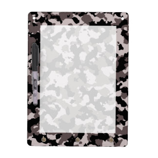 Military Brown Camouflage Pattern Dry-Erase Whiteboard