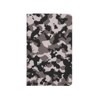 Military Brown Camouflage Pattern Journal