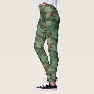 Military Camo 1 Leggings