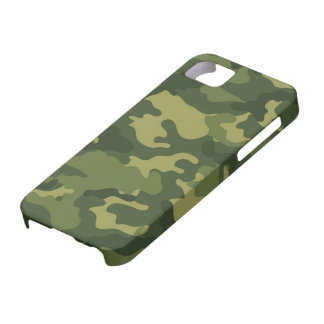 Military Camo Pattern Barely There iPhone 5 Case