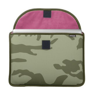 Military Camo Pattern MacBook Pro Sleeve