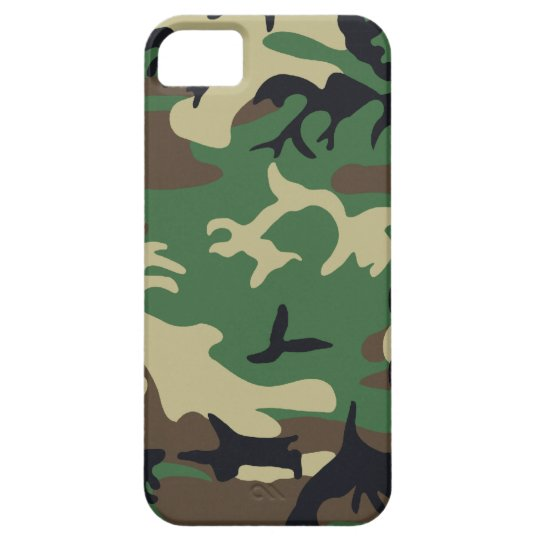 Military Camouflage Barely There iPhone 5 Case