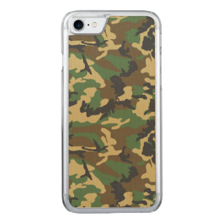 Military Camouflage Carved iPhone 8/7 Case
