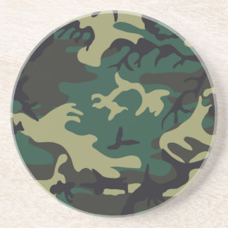 Military Camouflage Coaster