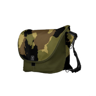 Military Camouflage Courier Bag