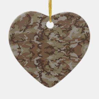 Military Camouflage Desert Ornament