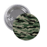 Military camouflage design 3 cm round badge