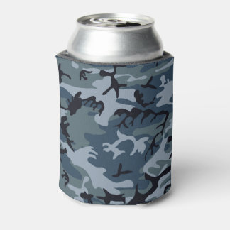 Military Camouflage Design Can Cooler